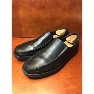 Bostonian Dress Shoe Black Leather Ortholite